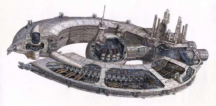 Внутренняя механика машин из «Звездных войн» (21 фото)
