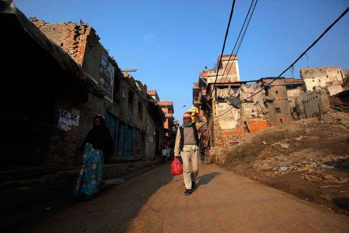 Непал спустя год после страшного землетрясения (15 фото)