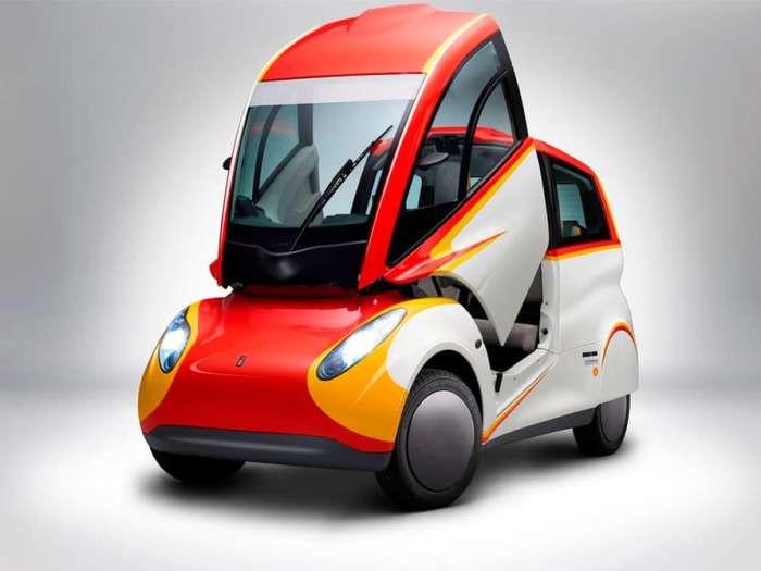 Новый супер экономичный автомобиль.