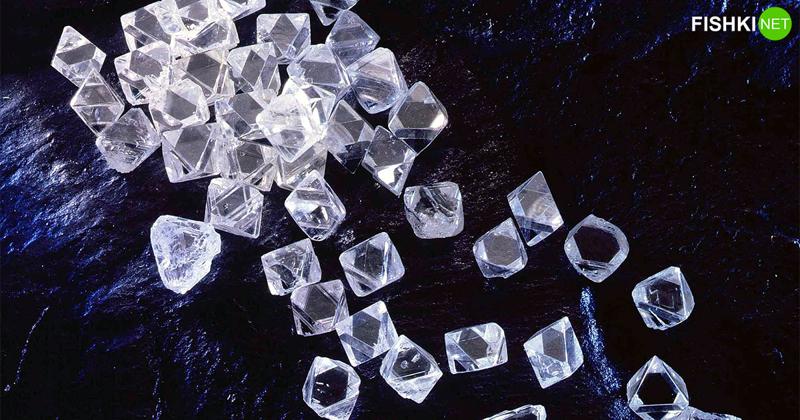 5 сияющих фактов об алмазах