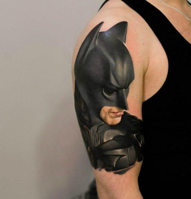 Портрет Бетмена.