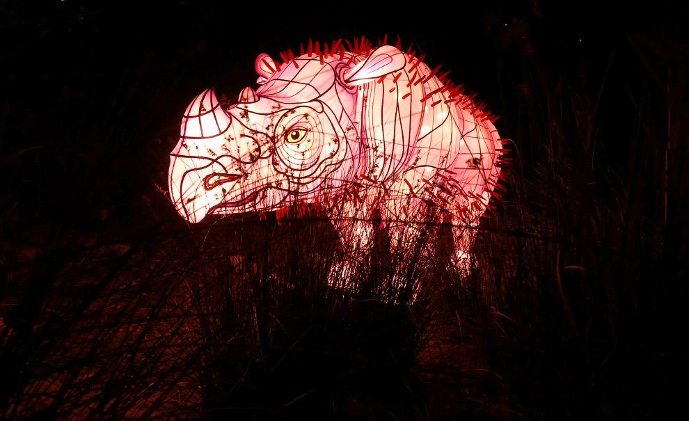 Фестиваль световых скульптур