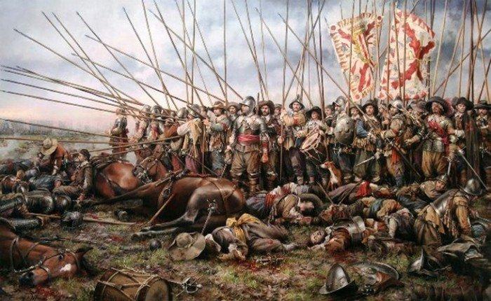 Тридцатилетняя война - 1618 и 1648 г.