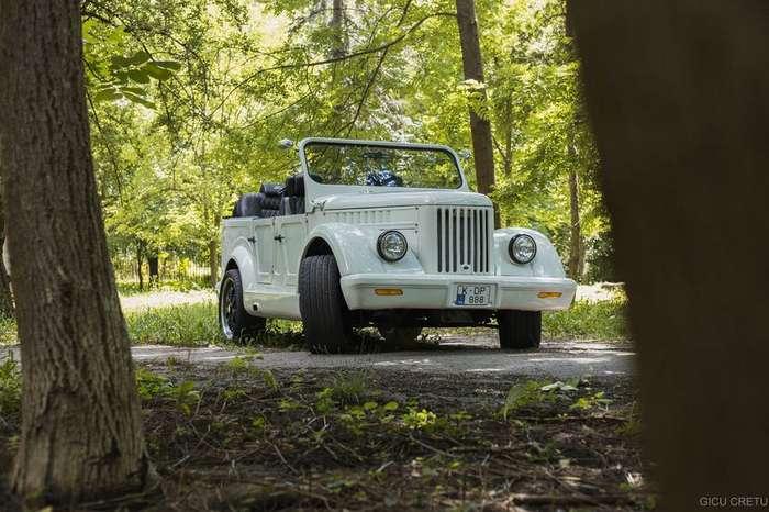 УНИКАЛЬНЫЙ ГАЗ-69 С ДВИГАТЕЛЕМ ОТ BMW МОЖНО ВСТРЕТИТЬ НА УЛИЦАХ КИШЕНЕВА