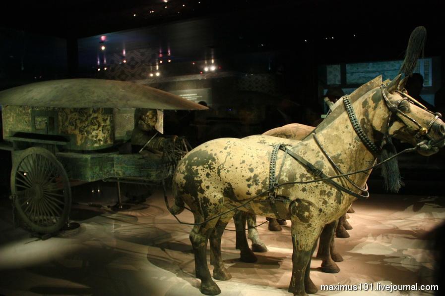 Гробница Первого императора Китая