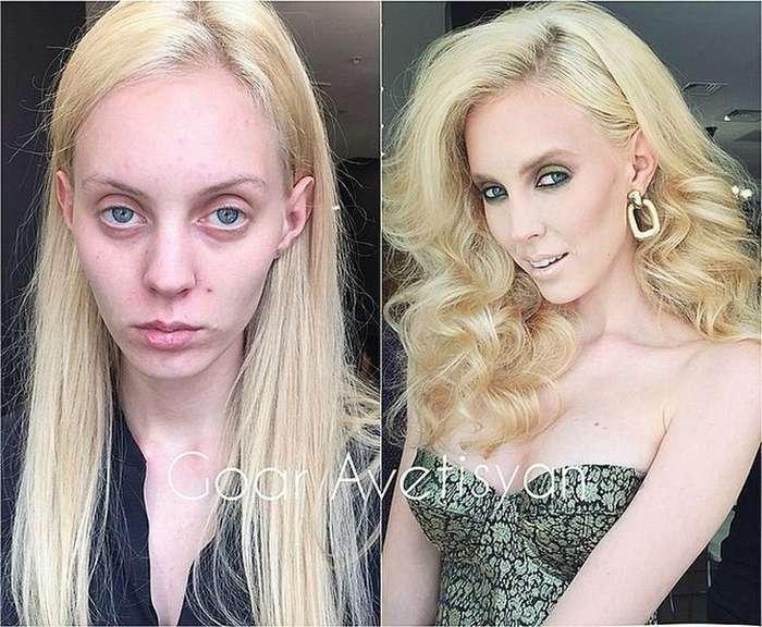Девушка-визажист превращает серых мышек в сексуальных красавиц