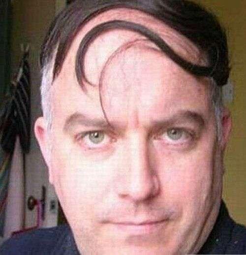 Крутые причёски для лысеющих ребят