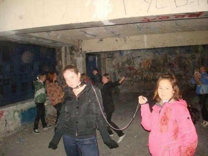 Тусовка в модном клубе. приколы, сельский гламур, чудаки из соцсетей