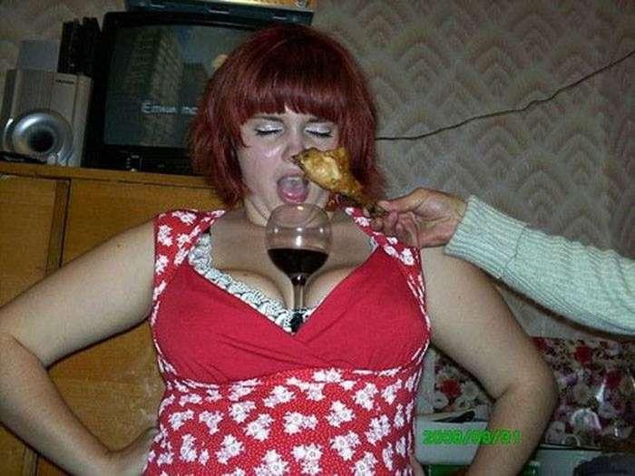 Вино и курица… романтика. приколы, сельский гламур, чудаки из соцсетей