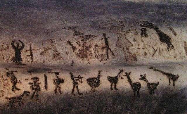 10 удивительных наскальных рисунков, которые произвели переворот в научном мире