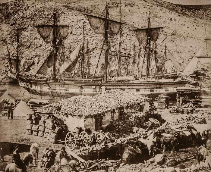 1855 год: Крымская война — первый в истории военный конфликт, который снимали фотографы