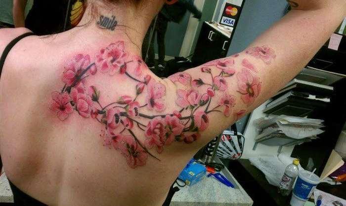 Интересные и необычные татуировки