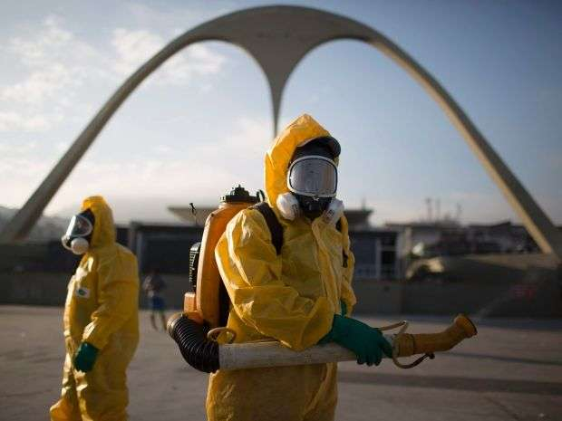 Эпидемия вируса Зика в фотографиях