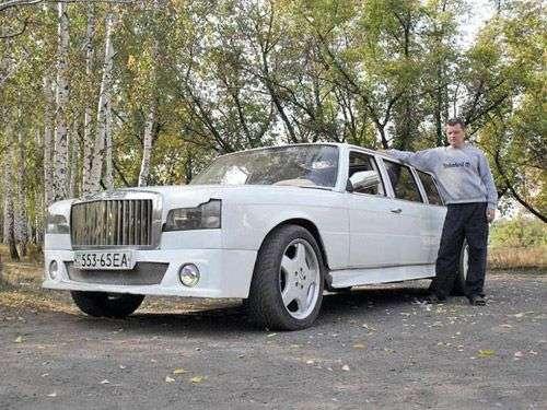 Виталий Адаричев сделал лимузин из холодильников