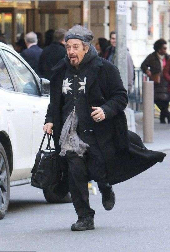 Аль Пачино приняли за городского сумасшедшего