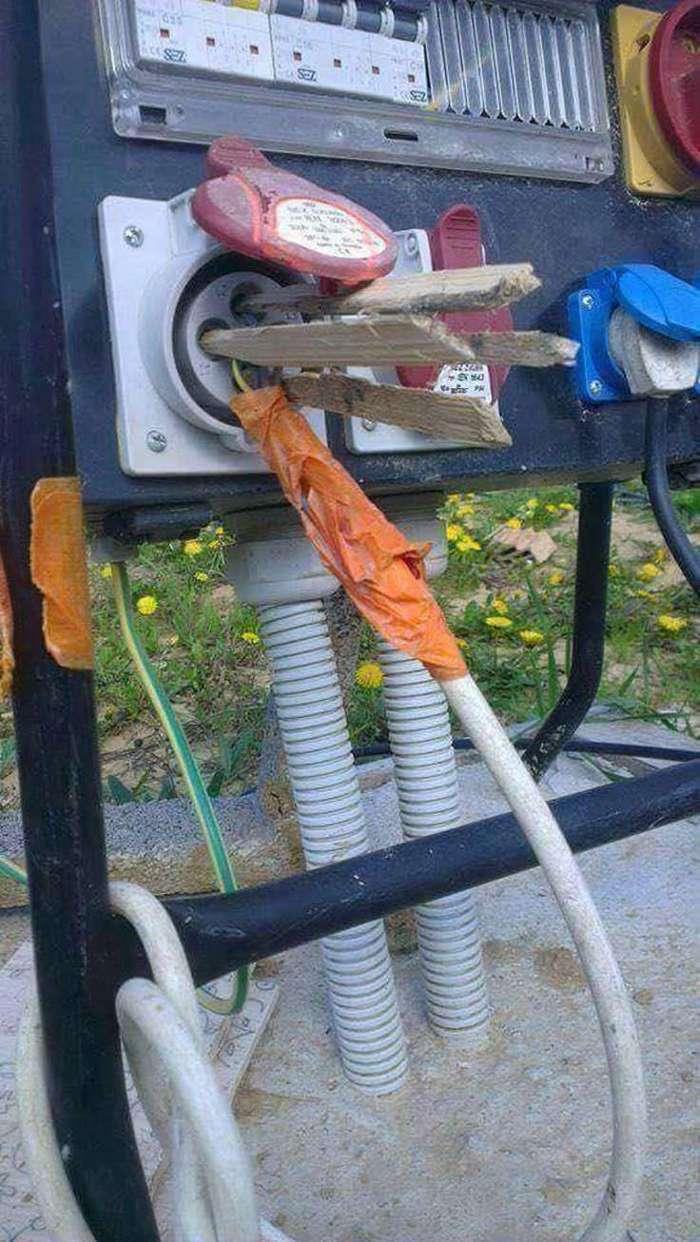 Как не нужно делать, когда вы решаетесь самостоятельно заняться ремонтом