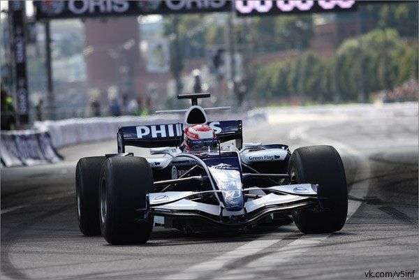 Общие технические характеристики болида F1