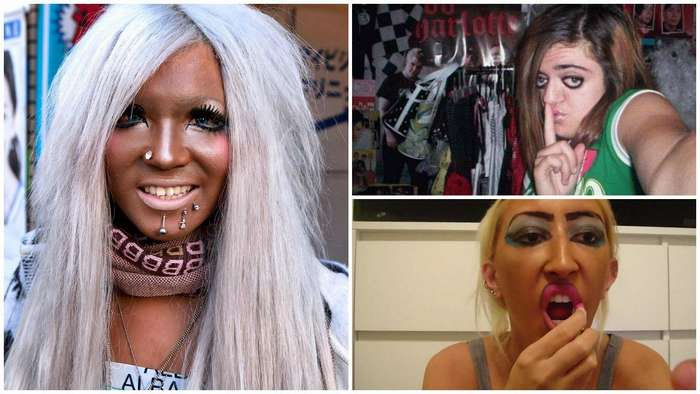 Эти девушки просто хотели быть красивыми, но что-то пошло не так