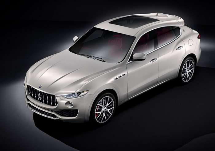 Maserati представила серийный кроссовер Levante
