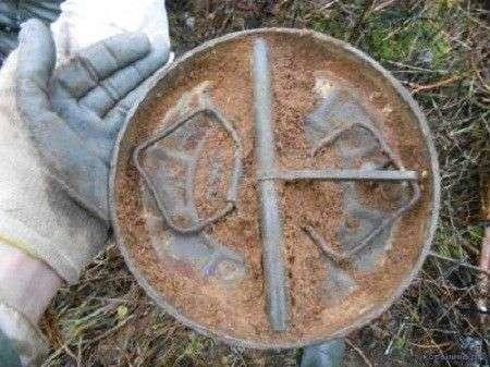 Тайник для диверсантов времен ВОВ, найденный спустя 70 лет