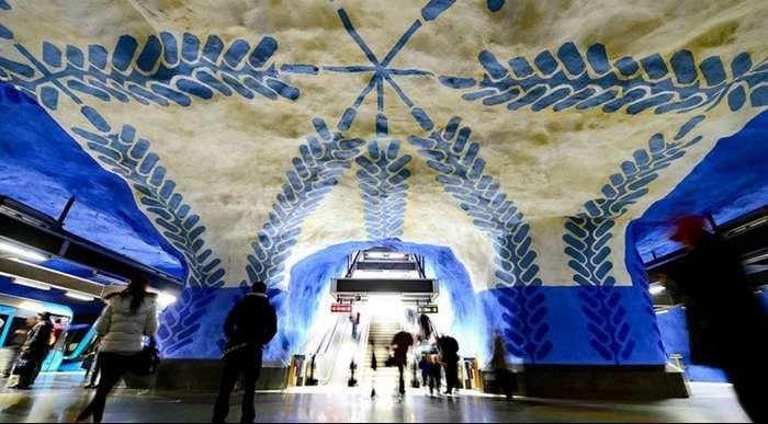 Самые красивые станции метро в мире !!  Предлагаю вам с ними познакомиться, друзья..