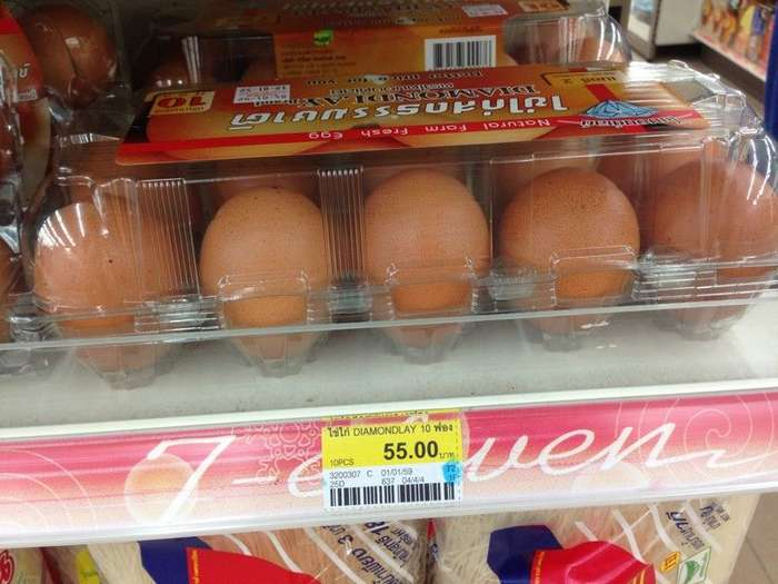Яйца – 112 руб./10 штук заграница, пора валить, таиланд, факты