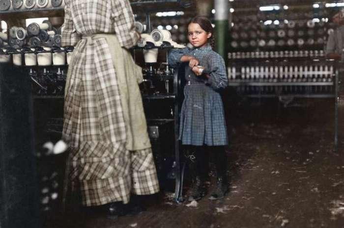 Потерянное детство: ужасные условия детского труда в фотографиях Льюиса Хайна