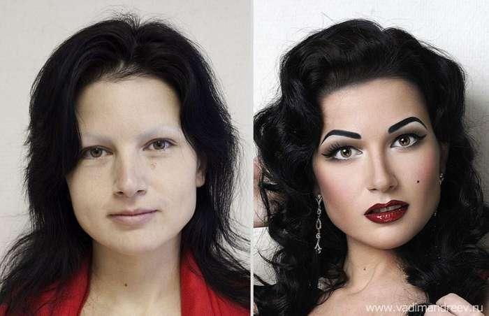 Невероятно, но факт: визажист творит настоящие чудеса!
