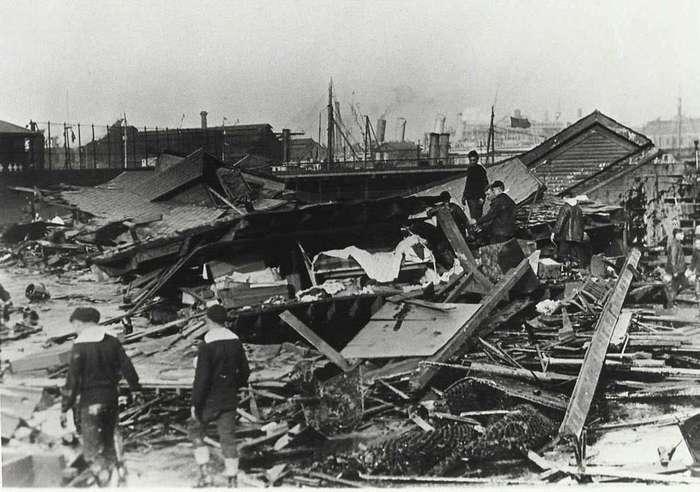 10 впечатляющих фото сахарного потопа в Бостоне