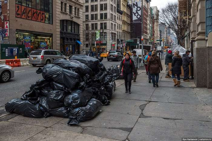 Нью-Йорк: странная мода, плохие дороги и отель будущего