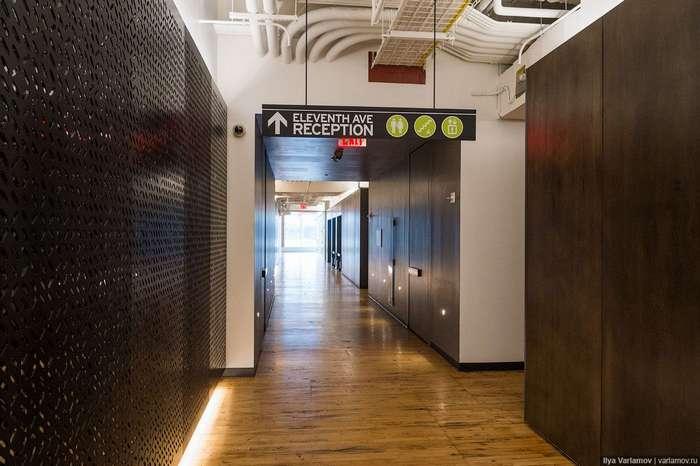 Новый офис Google в Нью-Йорке