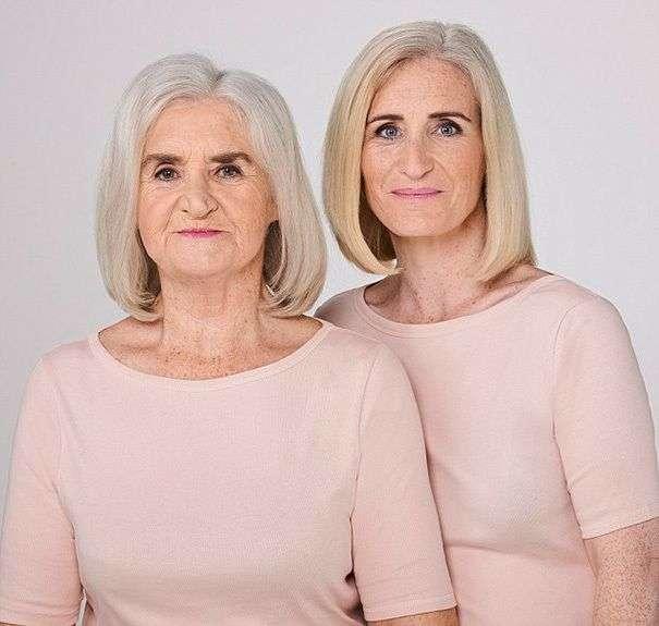 Проект, доказывающий, что каждая женщина с возрастом превращается в свою мать