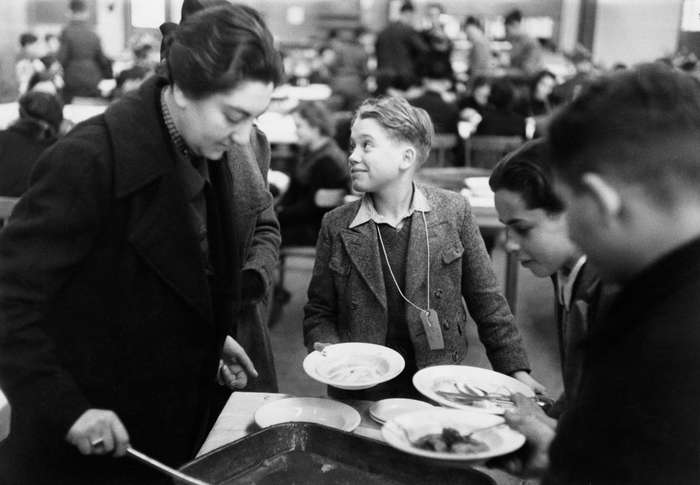 Редкие снимки британской спецоперации по спасению детей во время холокоста