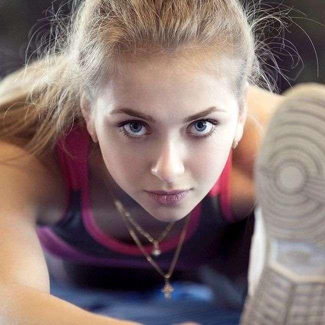 Российские спортсменки и просто красавицы