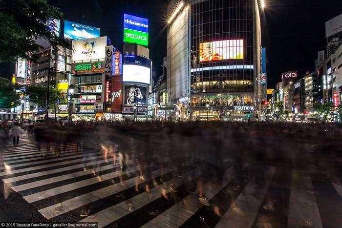 Упорядоченный хаос и ночь в Токио