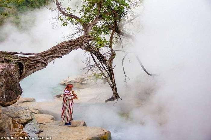 В амазонских джунглях найдена река, в которой можно свариться заживо