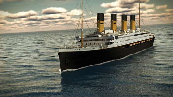 an analysis of the rms titanic on the end of an era