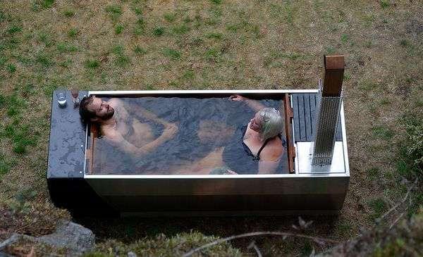 Дровяная гидромассажная ванна Soak