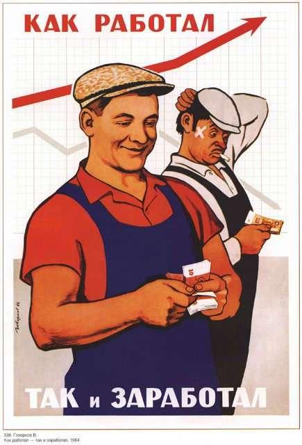 Мотивирующие плакаты из СССР