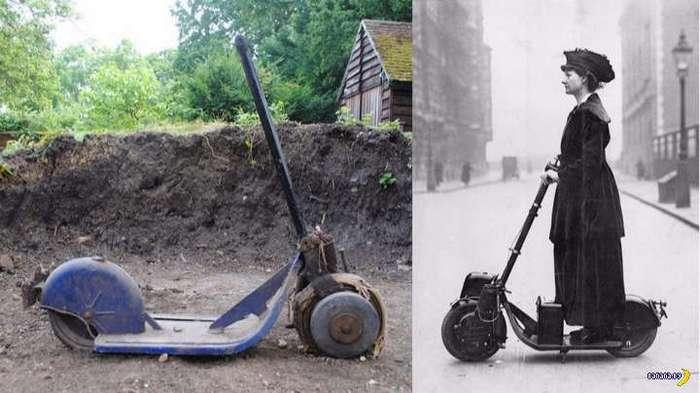 100-летний автопед