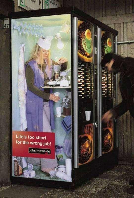 Как вписать невписуемое: шедевры наружной рекламы