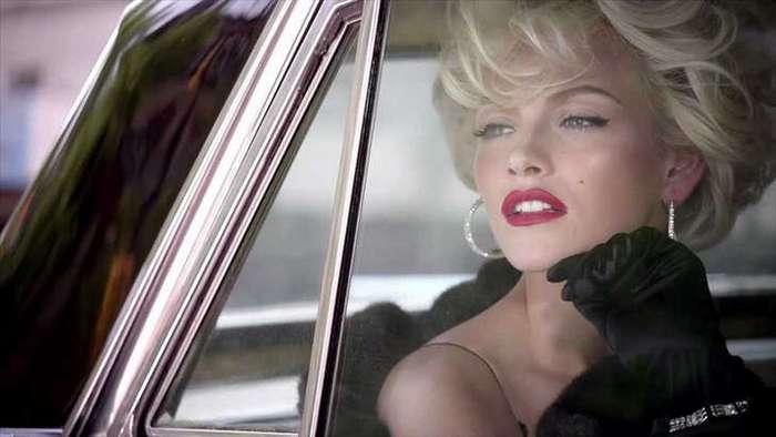 Мэрилин Монро отлично получилась на этих снимках… только ее там не было