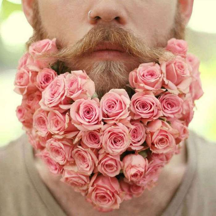 Весна пришла — борода расцвела!