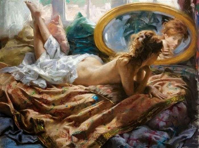 15 картин, обнажающих нежную женскую душу