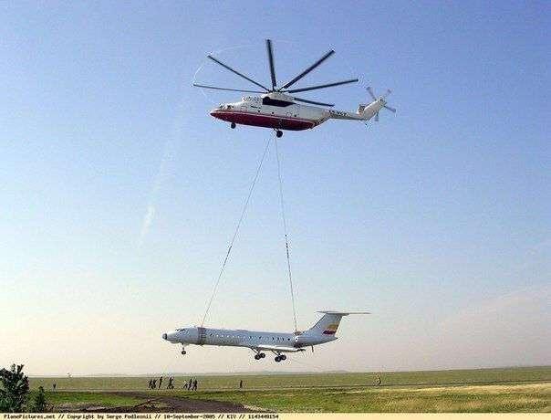 Ми-26 – самый большой вертолет в мире