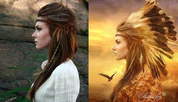 Восхитительный Фотошоп. До и после обработки