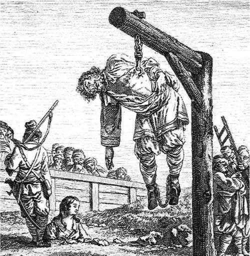 10 изощренных и жестоких казней, придуманных людьми