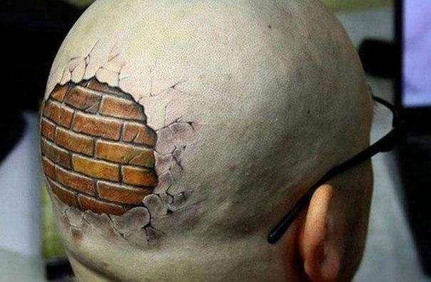 3D-татуировки, способные сломать мозг