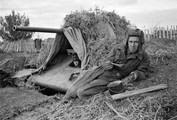 33 советских бойца на подступах к Сталинграду
