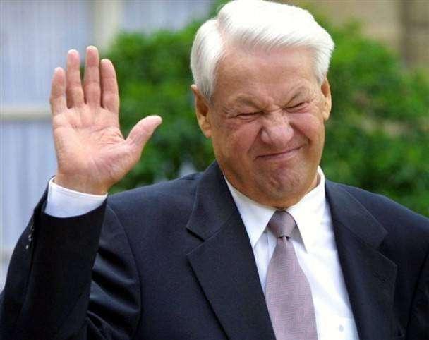 Цитаты Бориса Ельцина. Когда в голову только пили да ели